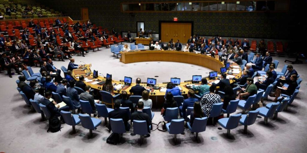 A past United Nations Security Council meeting in New York.where the africa group attended.