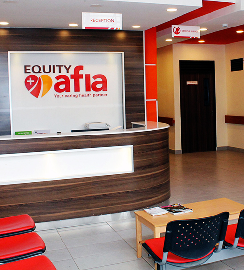 the new equity afia clinic that was just openend in turkana.