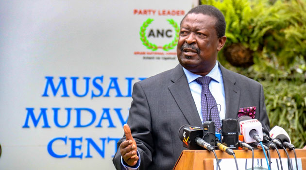 Musalia mudavadi who has rejected waiguru as a running mate saying that his party is open to anyone who is willing to be his deputy.