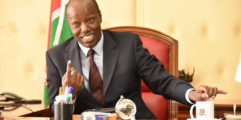 Lee Kinyanjui the governor nakuru county whose party ubuntu peoples forum has backed raila odinga for the presidential seat in the 2022 general election.